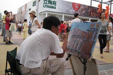 Paveiksluose kinas tikisi įamžinti gražiausius Expo paviljonus