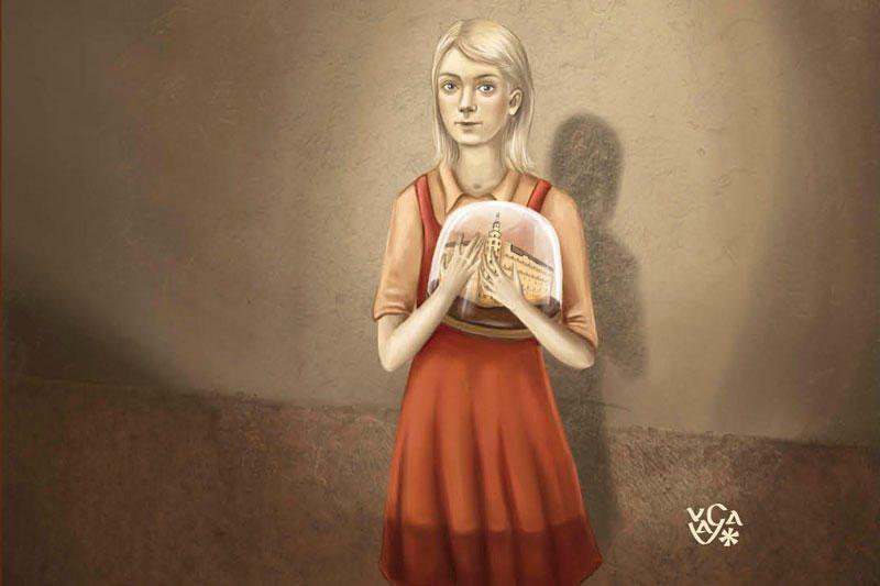 """Žinoma rusų rašytoja apie save - """"Metropolio"""" mergaitę"""