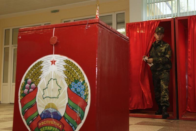Ambasada: parlamentą rinko apie pusė Lietuvoje gyvenančių baltarusių
