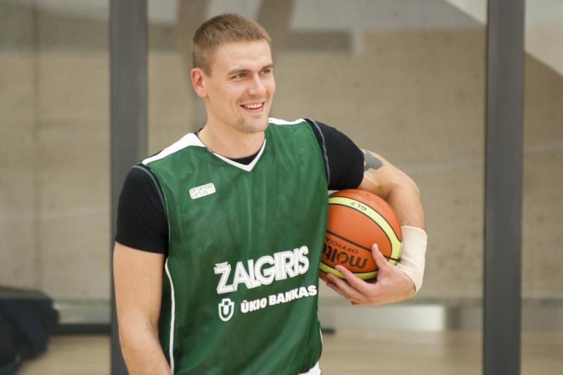 R.Javtokas: suspėjau pasiilgti krepšinio