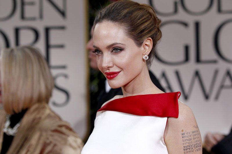 Žiniasklaida: aktorė Angelina Jolie laukiasi