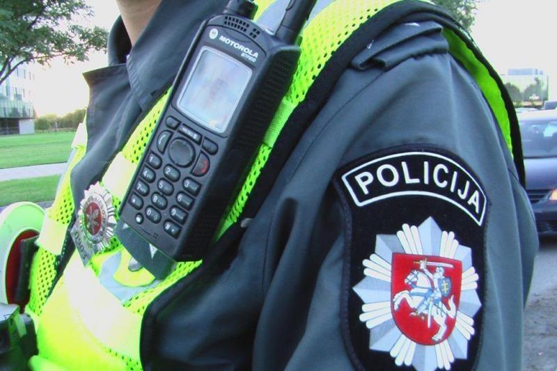 Policija nutraukia vieno mygtuko pagalbos įrenginio finansavimą