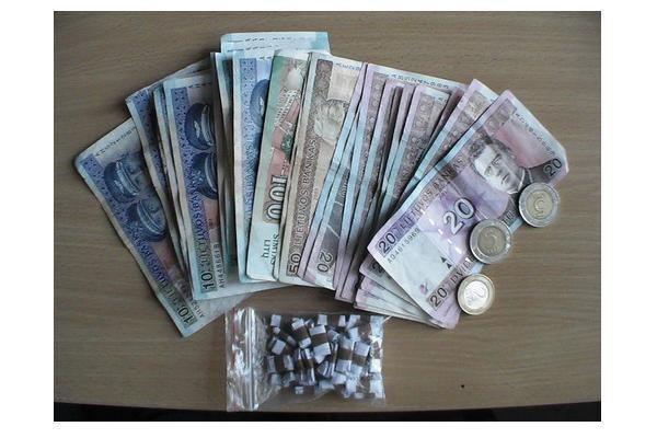 Sulaikyta narkotikais prekiavusi čigonė