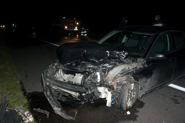Avarija greitkelyje: dėl girto vairuotojo kaltės nukentėjo medikė