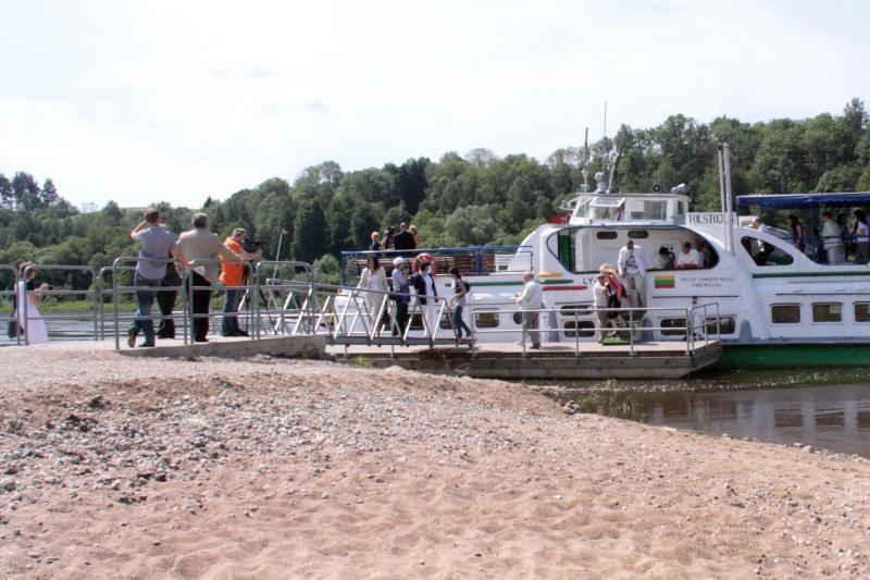 Sekmadienį prasideda kelionės laivu į Kulautuvą