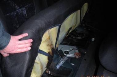 Uostamiestyje sulaikyti ginkluoti jaunuoliai