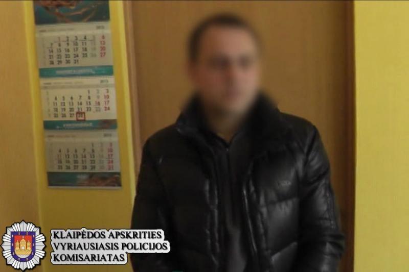 Klaipėdos pareigūnai sulaikė mašinvagių grupuotę