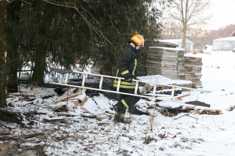 Vilniuje degė archeologinių vertybių sandėlis