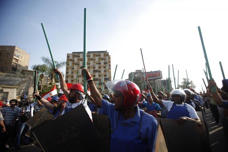 Egipto prezidentas sako, kad laimėjo teisingus rinkimus ir liks
