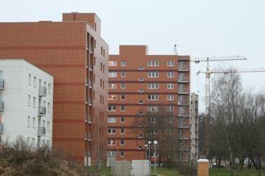 Per trejus metus Klaipėdoje butai atpigo 45 proc.