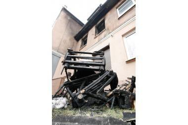 Klaipėdoje sudegė moteris