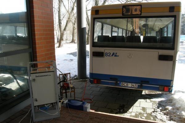 Autobusai mažiau terš aplinką