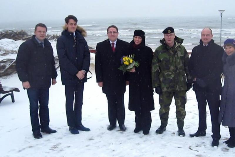 Palangoje viešėjo Švedijos ambasadorė