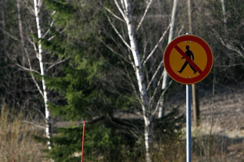 Dėl audros išlaužytų medžių ribojamas lankymasis Šalčininkų rajono miškuose