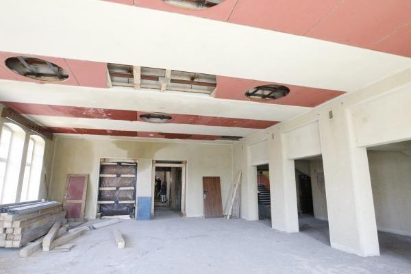 Dramos teatro rekonstrukcija: darbai vyksta sklandžiai