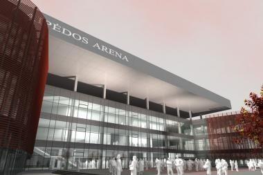 Klaipėdos arenos statybos prasidės iki vasaros vidurio