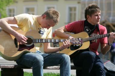 Gatvės muzikos dieną Klaipėdoje - įvairi muzika (programa)
