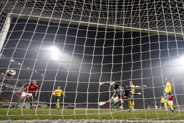 Lietuvos futbolininkai pralaimėjo vengrams (papildyta)