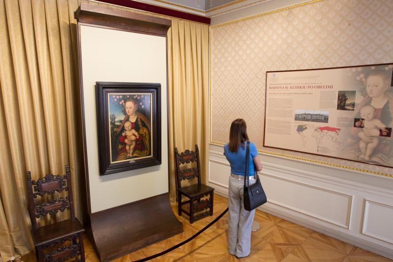 Paveikslų galerijoje – vienas Ermitažo kolekcijos perlų