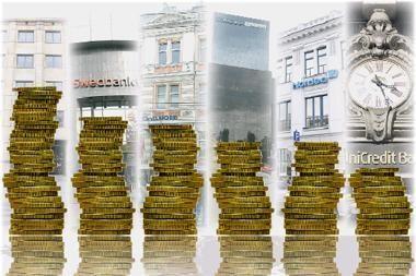 Didžiausi Baltijos regiono bankai pradeda skaičiuoti pelną