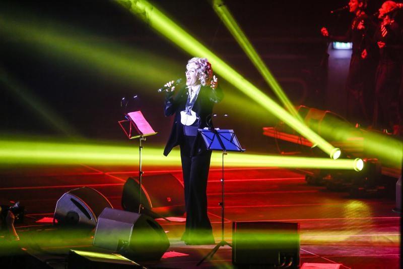 Koncertuodama Kaune L. Vaikulė pristatė jauną atlikėją ir naują dainą