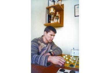 Uostamiesčio šaškių čempionas – S.Venckus