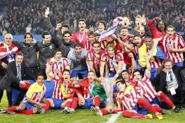 UEFA Europos lygos finale triumfavo Madrido