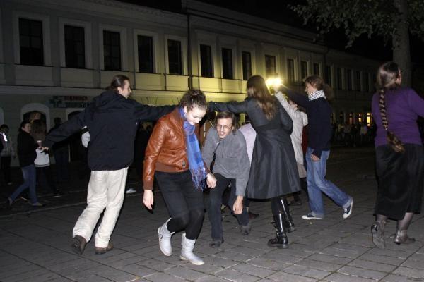 """Tamsa Laisvės alėjoje per """"Kauno naktis"""" – dėl gedimo"""