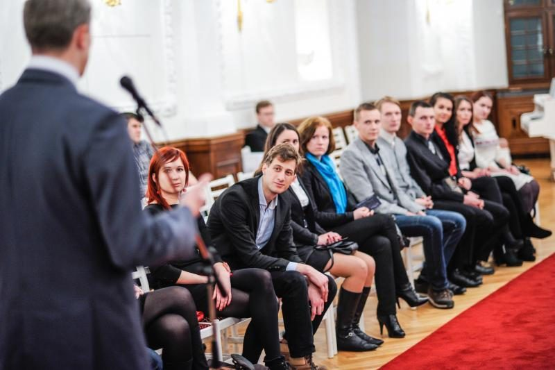 Politikai ir verslininkai Kauno jaunimui dalijo patarimus