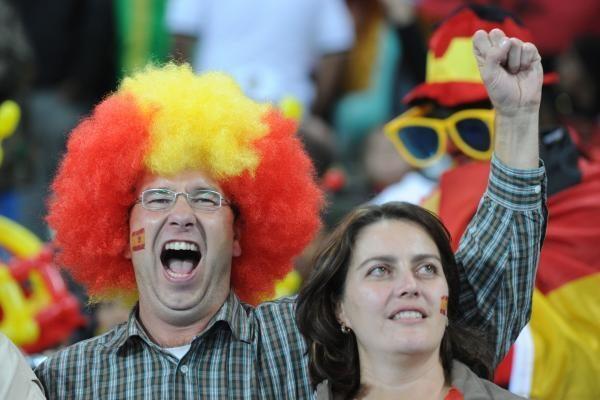 Ispanijos rinktinė – pasaulio čempionato finale