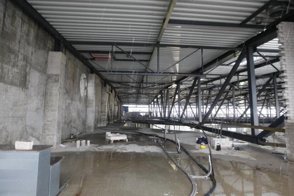 Klaipėdos arena: jau atlikta pusė darbų
