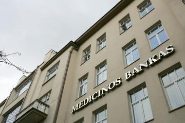 Medicinos banko pirmojo pusmečio pelnas – 1,82 mln. litų