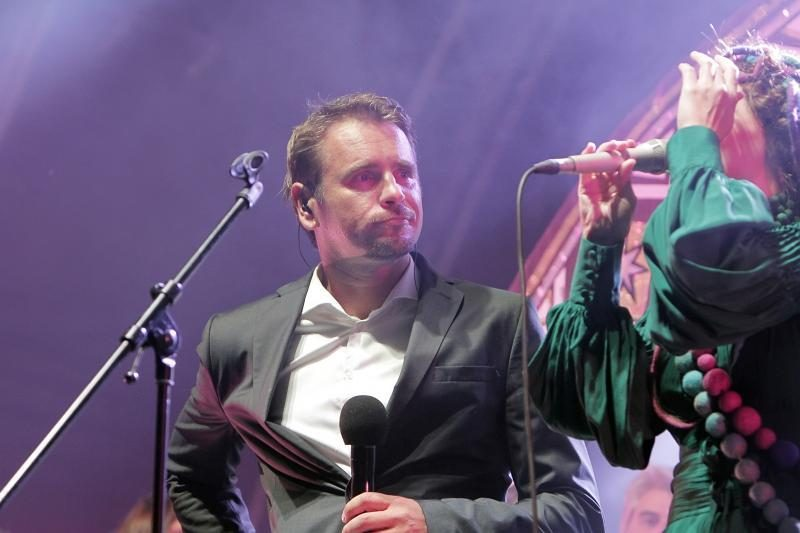 """Jūros šventės finišas – grupės """"Skylė"""" koncertas"""