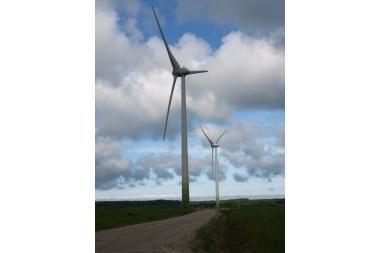 Kretingos r. – modernus vėjo jėgainių parkas