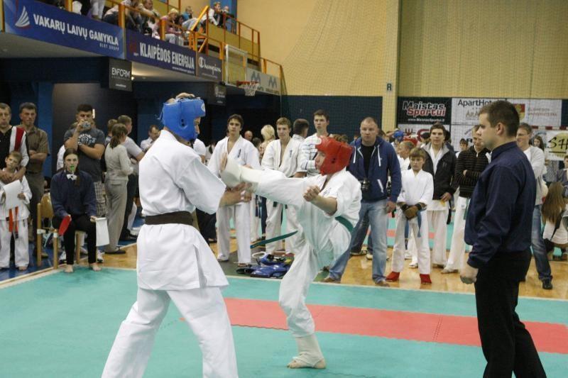 """Klaipėdoje - karate kiokušin """"Baltijos"""" taurės varžybos"""