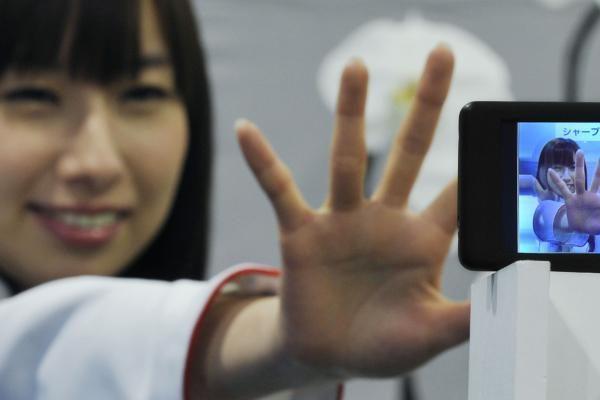 """""""Sharp"""" naujiena – sensoriniai 3D ekranai"""