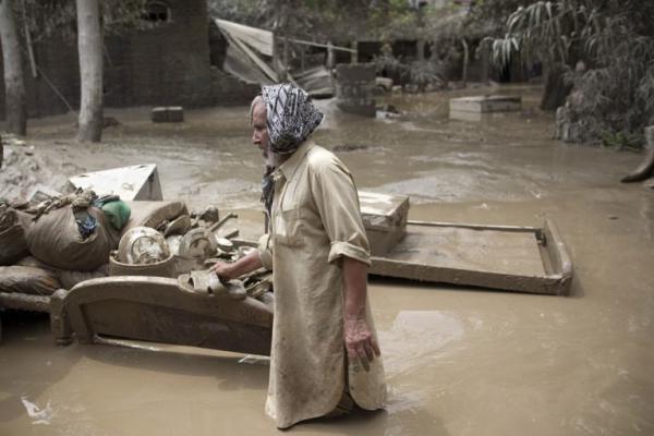 Pakistane dėl potvynių žuvo apie 1 500 žmonių