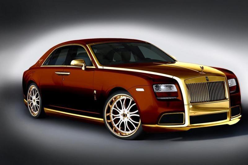 """""""Rolls-Royce"""" beskonybė: 24 karatai aukso sugadino prestižą (foto)"""