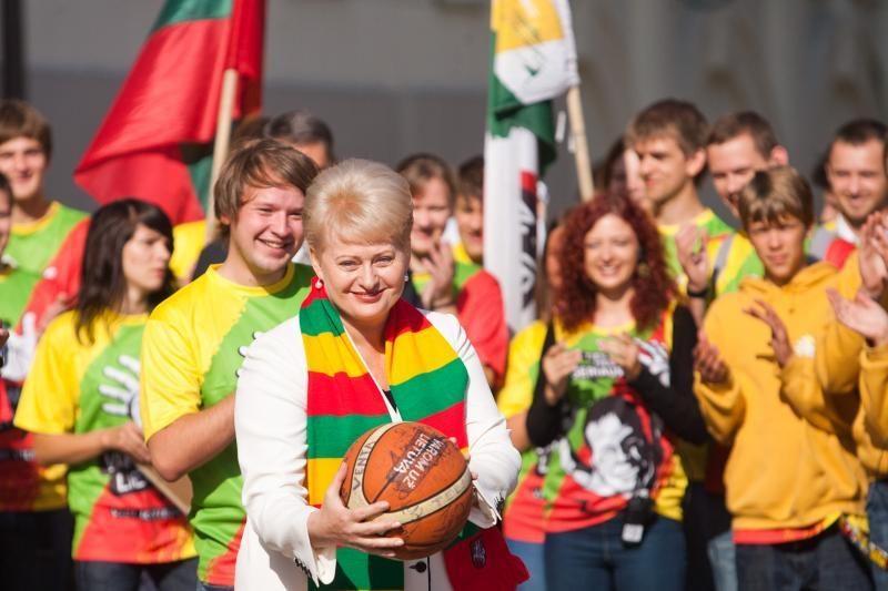 43 proc. gyventojų pasisako už D.Grybauskaitės antrąją kadenciją