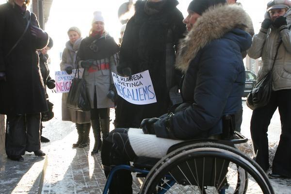 Klaipėda nėra patogi neįgaliesiems