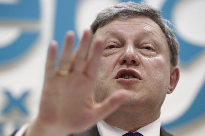 G.Javlinskiui neleista kandidatuoti prezidento rinkimuose