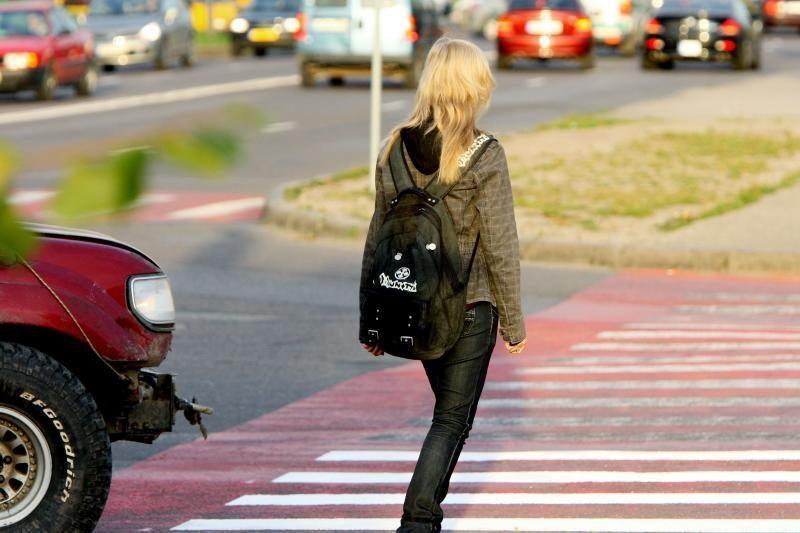 Klaipėdoje pirmą kartą bus atliekamas pėsčiųjų perėjų auditas