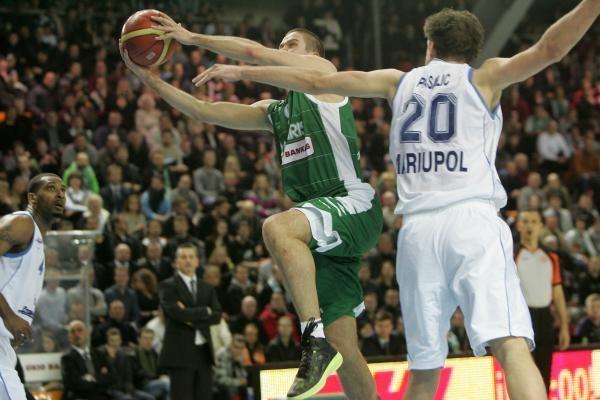 """VTB lyga: Kauno """"Žalgiris"""" – Mariupolio """"Azovmaš"""" 75:86"""