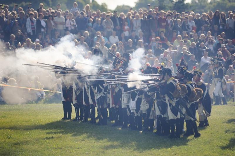 Napoleono mūšis priviliojo apie 70 tūkst. smalsuolių