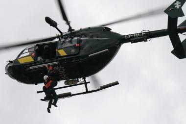 Tadžikistane sudužus sraigtasparniui, keturi kariai žuvo