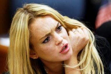 Lindsay Lohan paleista iš kalėjimo už užstatą