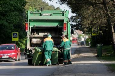 Lapkričio 1 dieną atliekos bus išvežamos įprastu grafiku