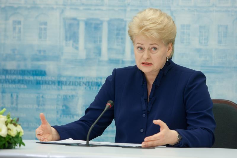 D.Grybauskaitė: šis Seimas ir Vyriausybė užtikrino šalies stabilumą