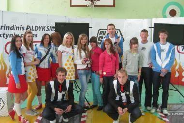 SMS lenktynių lyderės – Klaipėdos ir Šilutės moksleivės