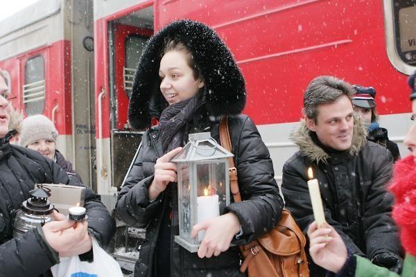 Beatliejaus ugnis pasiekė Klaipėdą